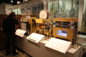 Interactive organ display.