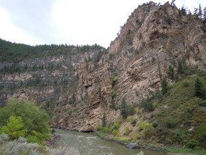 Bicycling Mighty Glenwood Canyon