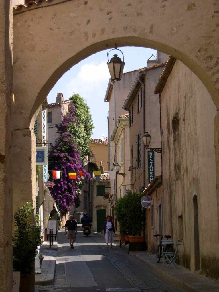 Nice archway in a small village