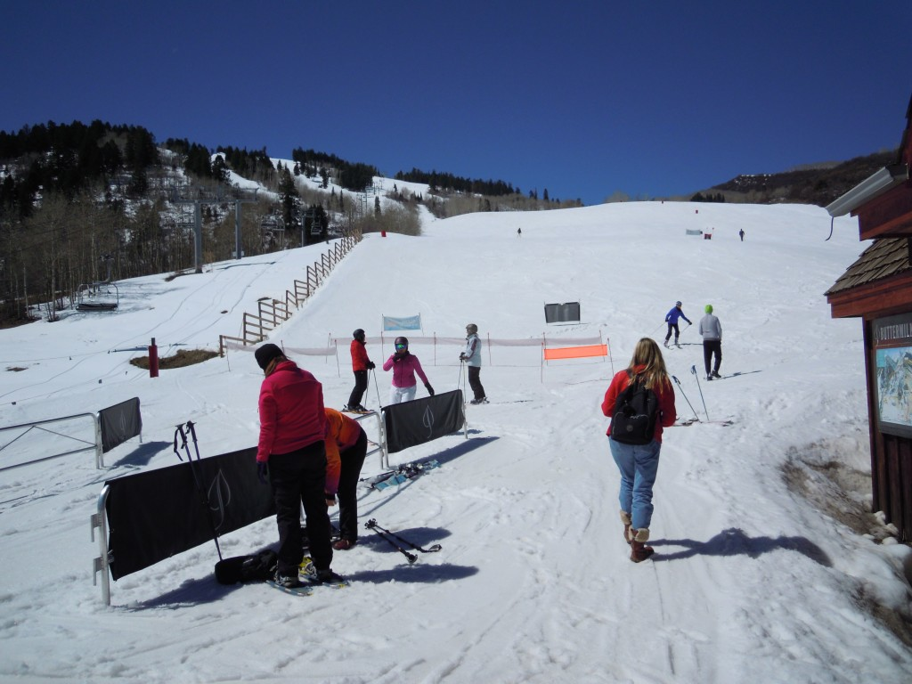Buttermilk ski area Aspen