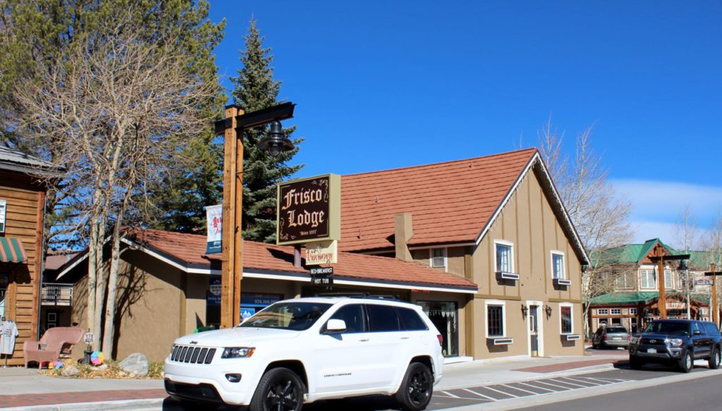 The Frisco Lodge is still in business and looking good