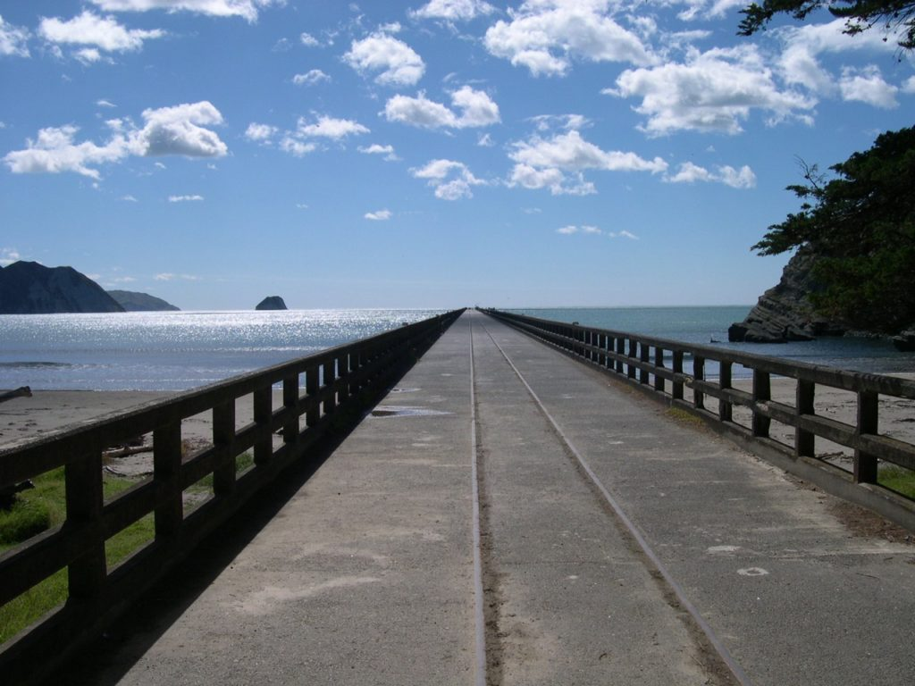 Tolaga Bay ner Gisborne, NZ