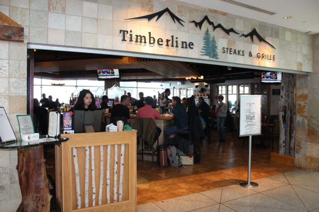 Timberline Steaks and Grille in the C terminal